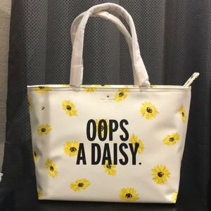 NWT Kate Spade oops-a-daisy tote